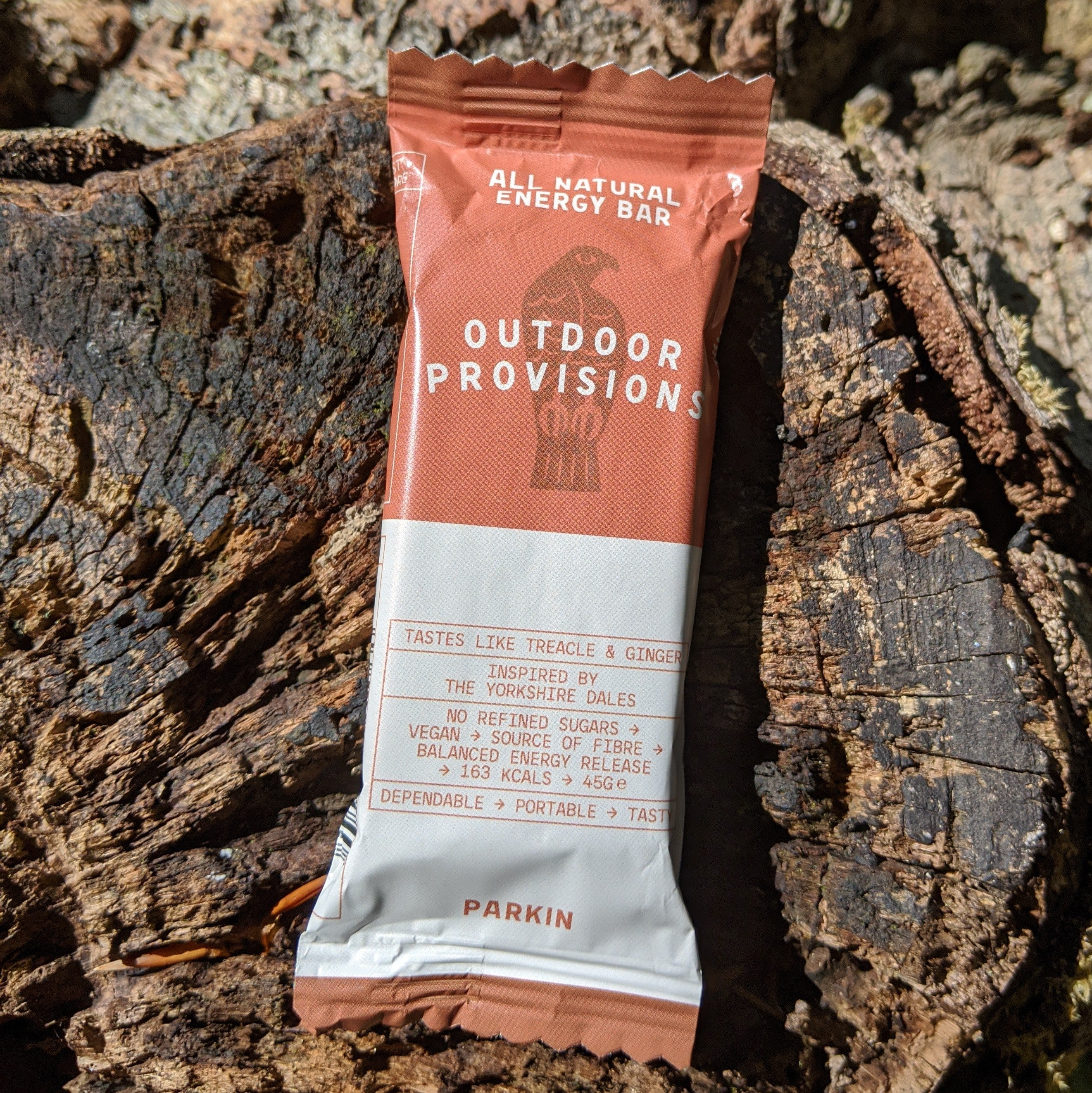 Outdoor Provisions natural energy bar -  Parkin