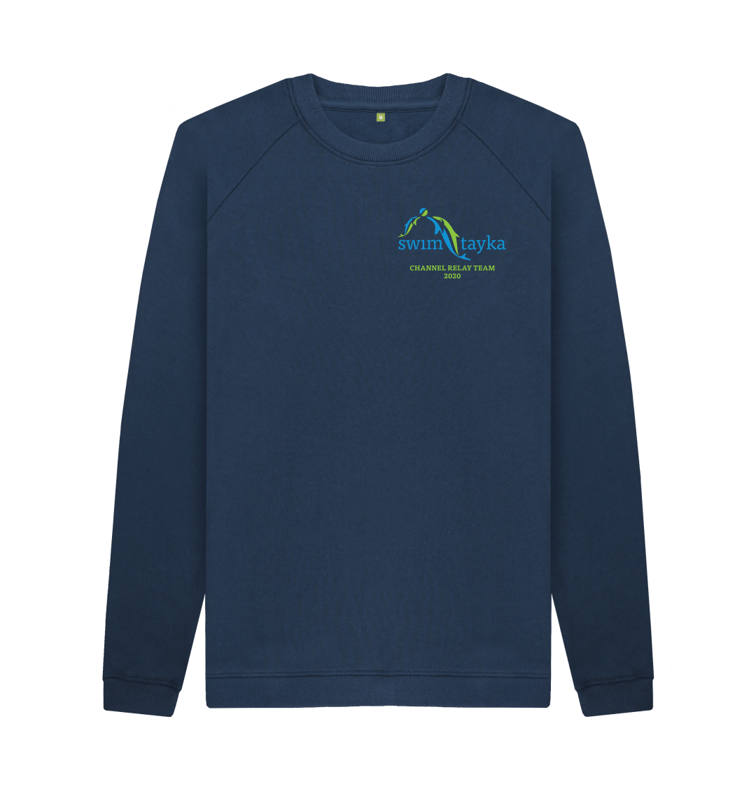 SwimTayka Men's Sweatshirt - Channel Swim 2020