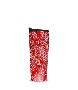 Insulated Leakproof Travel Mug - Flowers
