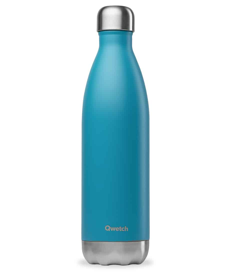 Insulated Stainless Steel bottle - Blue 750ml