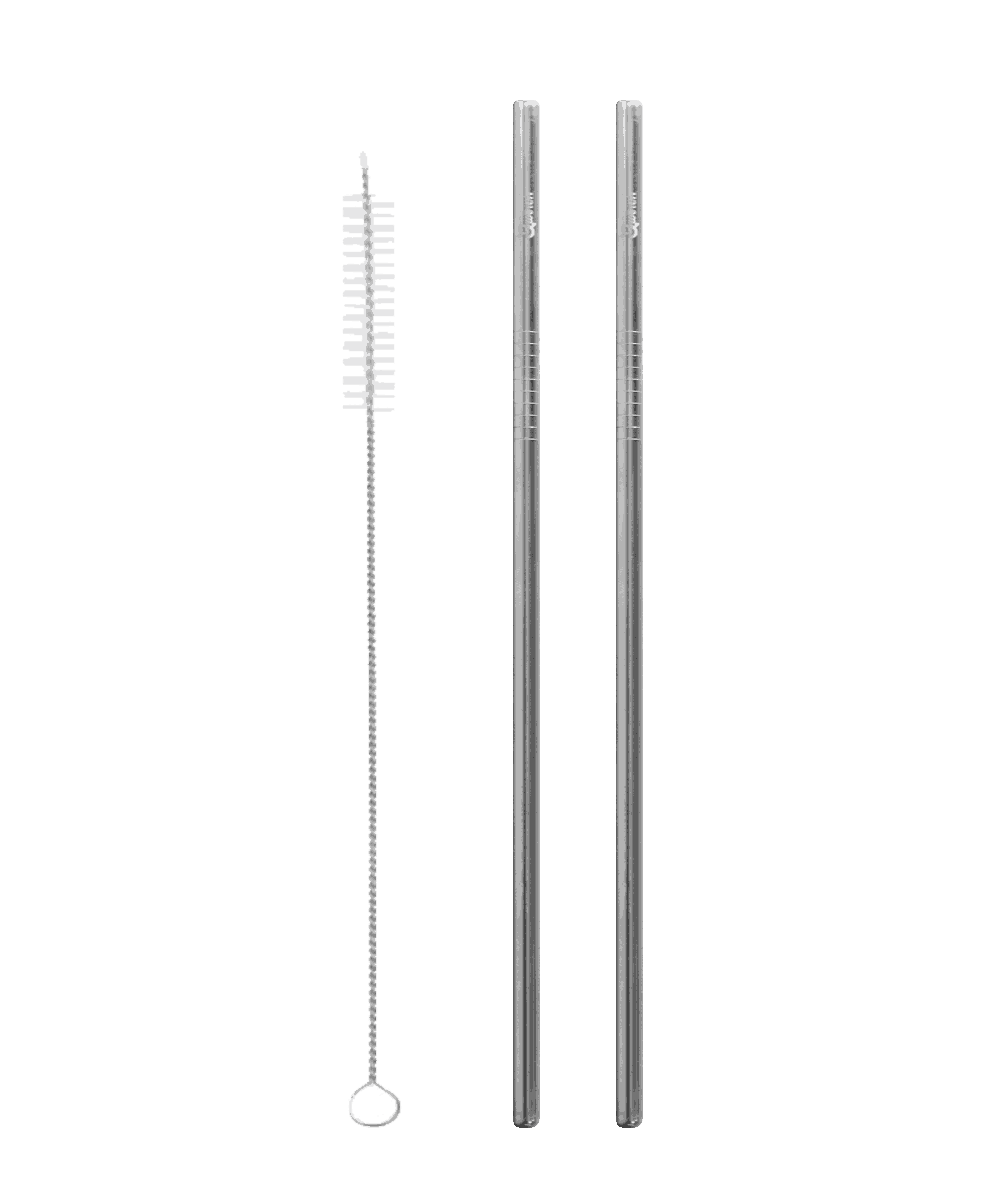 Stainless Steel Straws - straight