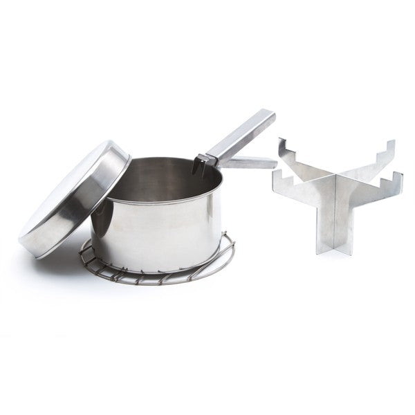 Kelly Kettle Ultimate 'Base Camp' Kit in Stainless Steel