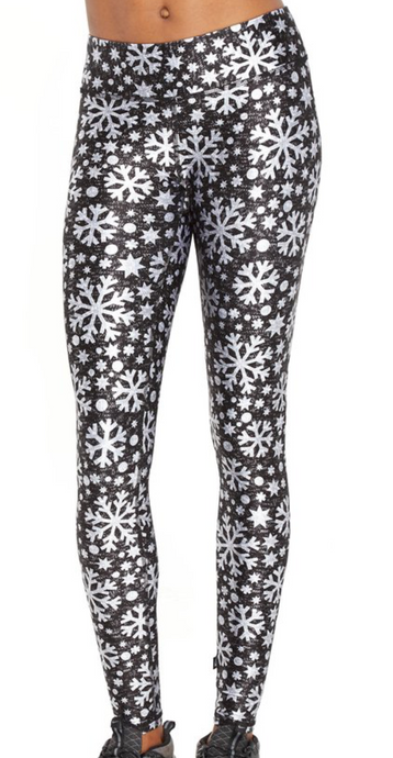 Terez - Frosty Flakes Tall Band Leggings