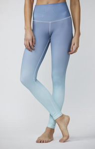 DYI - Chambray Eucalyptus Ombre Printed Tights