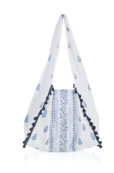 Shiraleah - Gemma Hobo Bag - Blue and White