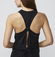DYI - Tie Back Lounge Tank - Black