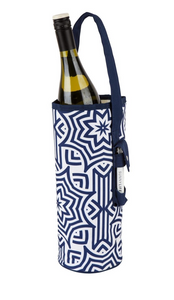 Sunnylife -  Cooler Bottle Tote Azule