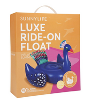 Sunnylife - Ride-On Float Peacock