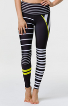 Onzie - High Rise Graphic Legging - Linear