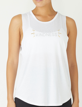 Glyder - Power Tank - Radiate Kindness- White