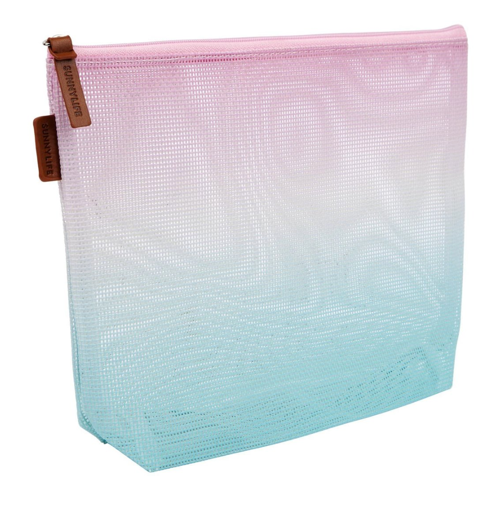 Sunnylife - Mesh Cosmetic Bag  - Malibu