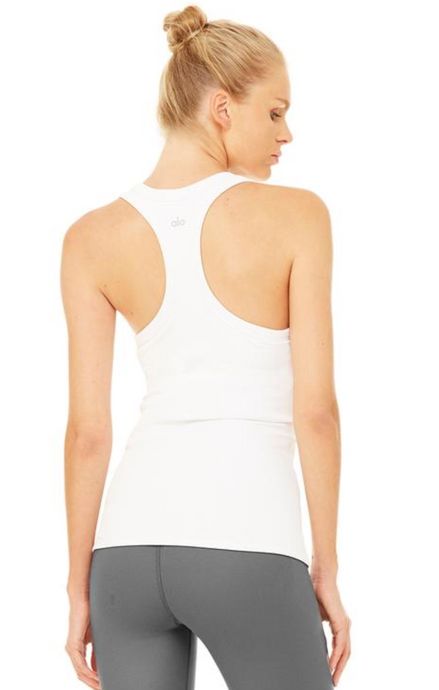 Alo - Rib Support Tank - White