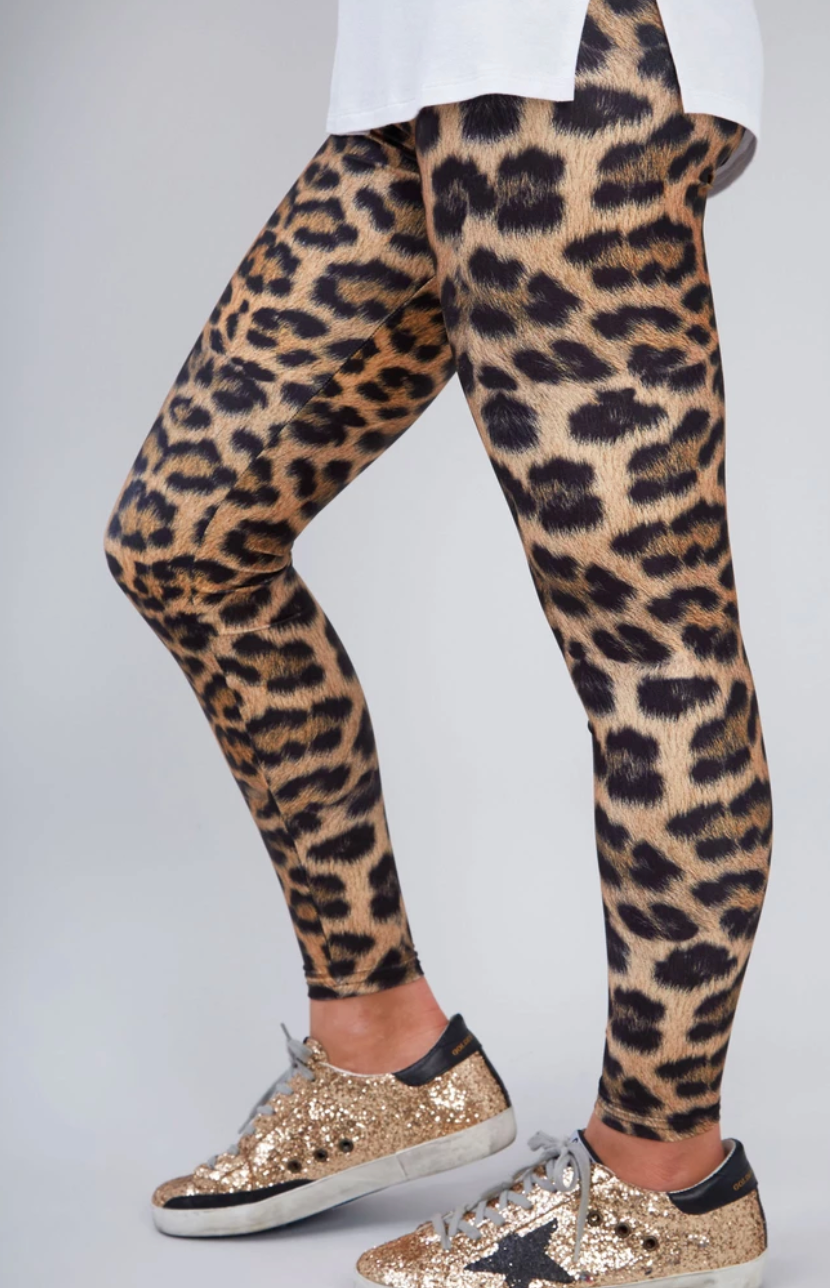 Terez - Girls Leopard Goals Leggings