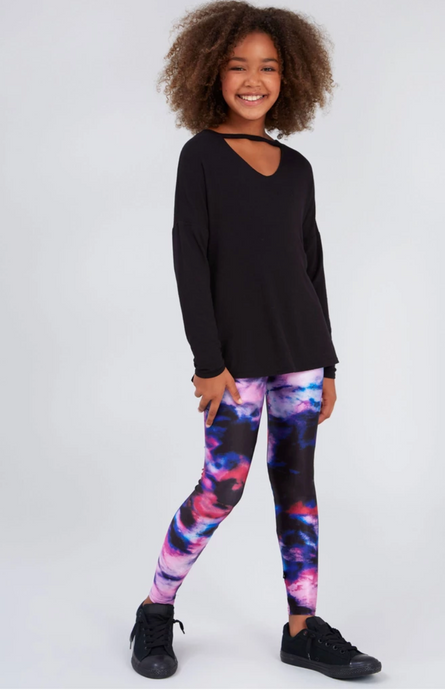 Terez  - Girls Blurred Lines Leggings