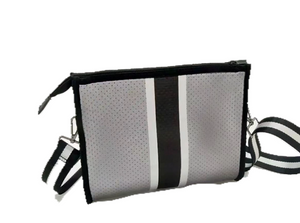 Haute Shore - Mark Shine - Charcoal Coated / Black and silver Stripe