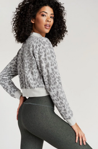 Strut This - Georgie Sweatshirt - Grey Freckle