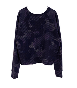 Terez - Girls Camo Stripe Sweatshirt