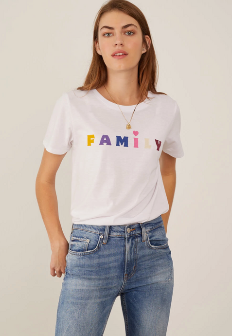 South Parade - Jane - Boy Tee - Family- White