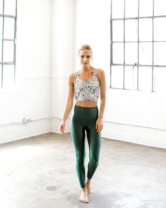 DYI - High Shine Signature Pant - Emerald