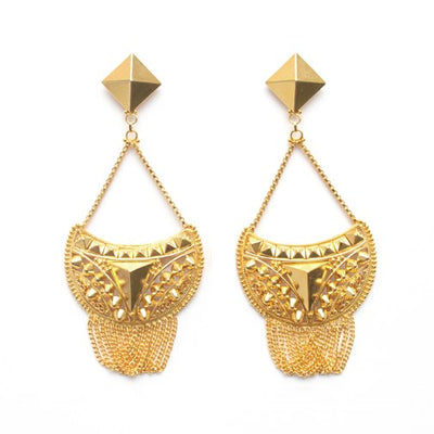 Puja Drop Stud Earrings