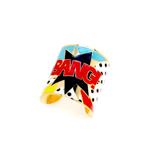 BANG Enamel DC Comics Statement Cuff Bracelet