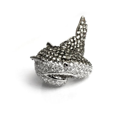 Natalie the Shark Ring