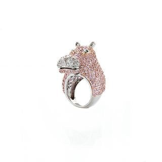 Holly the Hippopotamus Ring