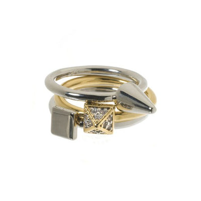3 Mix Stackable Ring Set