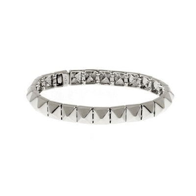 Thin Single Pyramid Bracelet