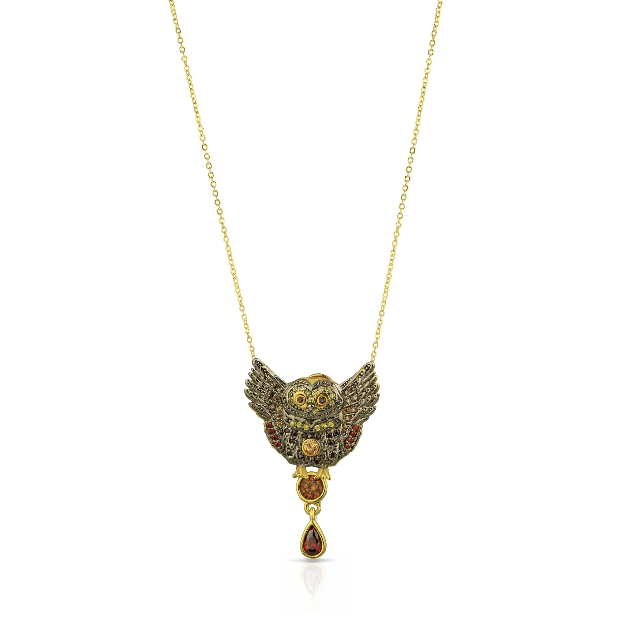 Wise Wings Necklace