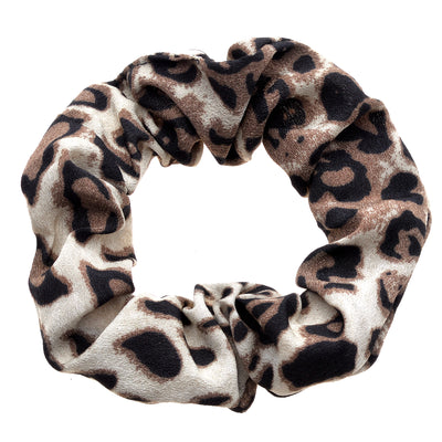 Ombre Leopard Scrunchies - Set of 3