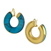 Arc Beam Hoop Earring