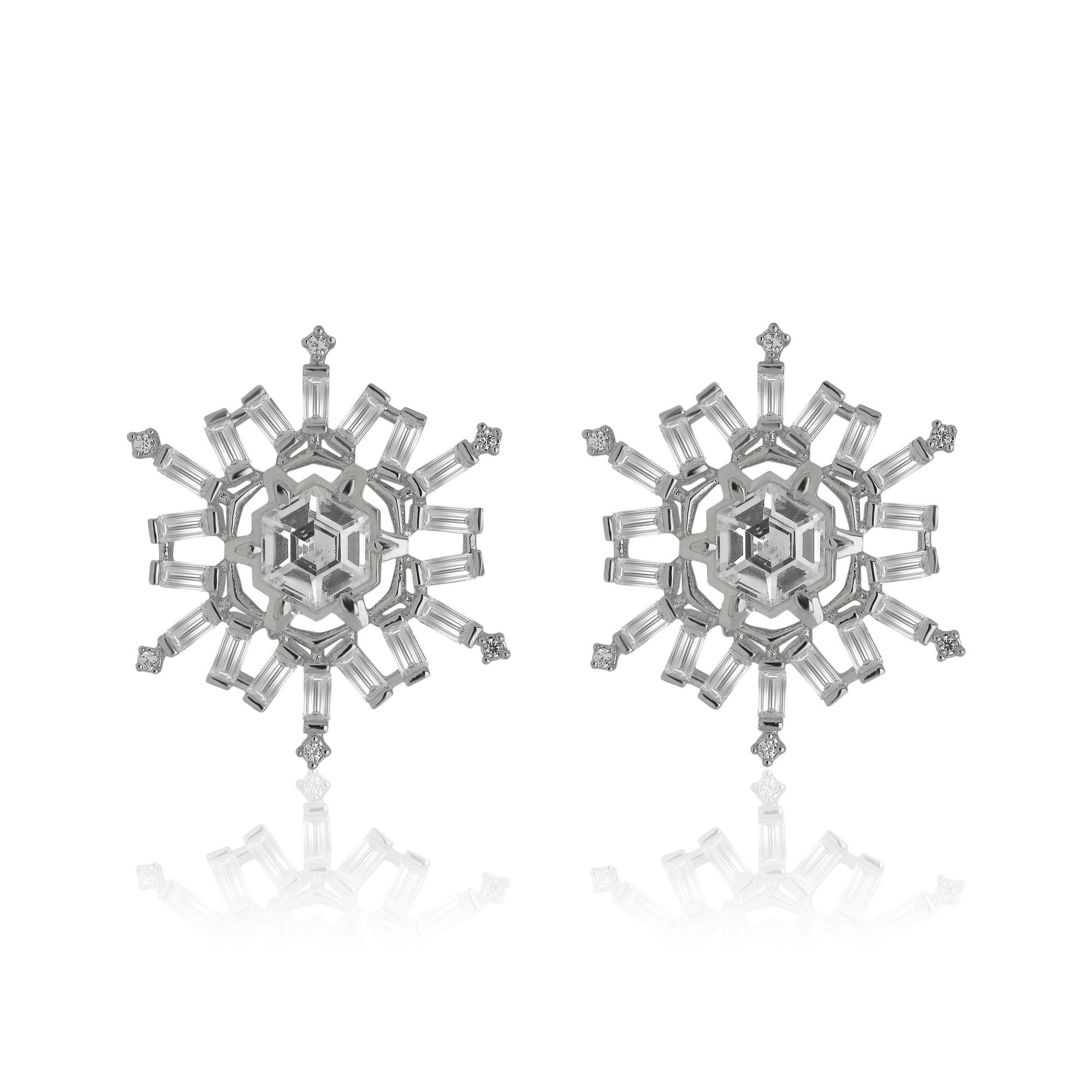 Snowburst Post Earrings