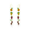 Mixed Fruit Linear Earring