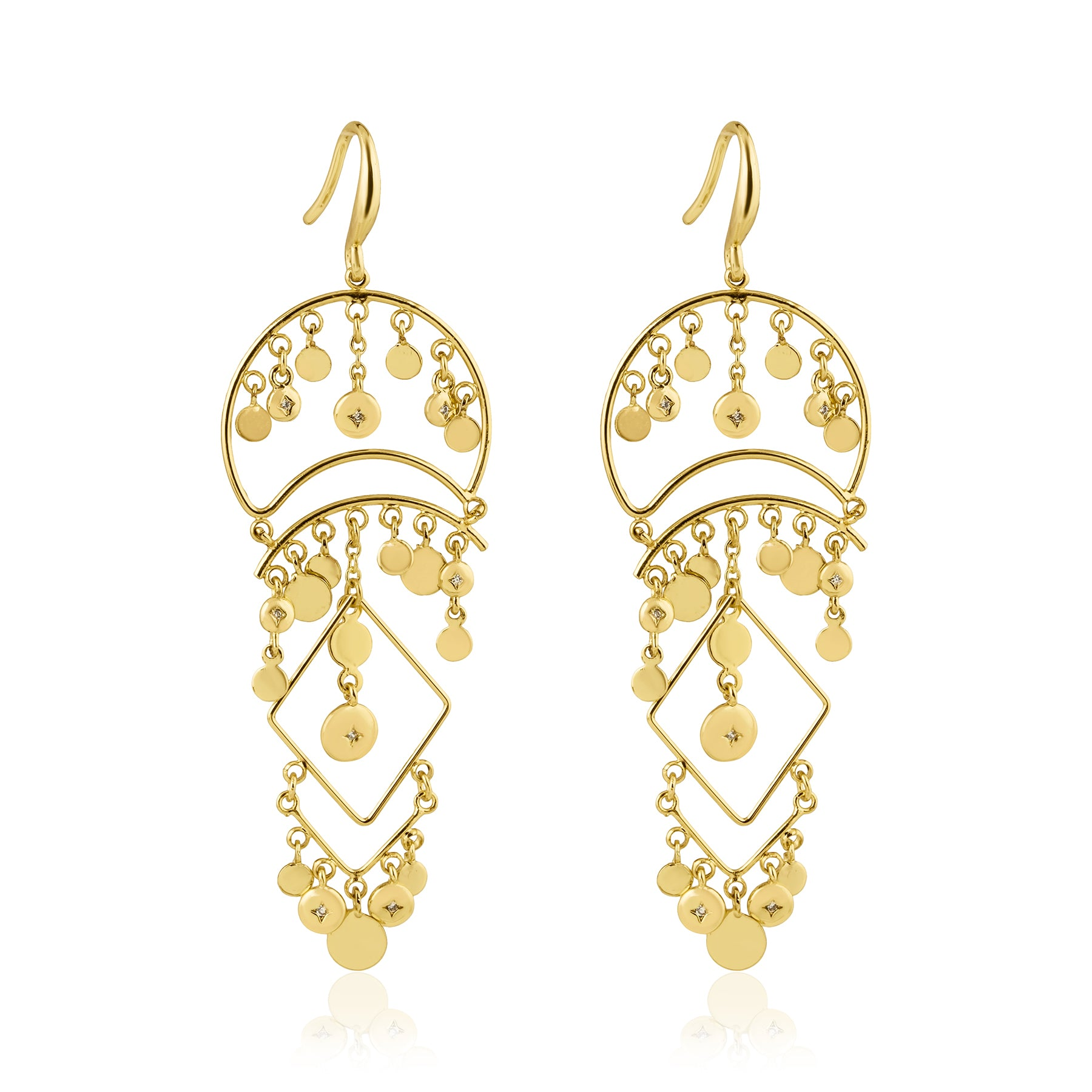 Otranto Medium Statement Earring