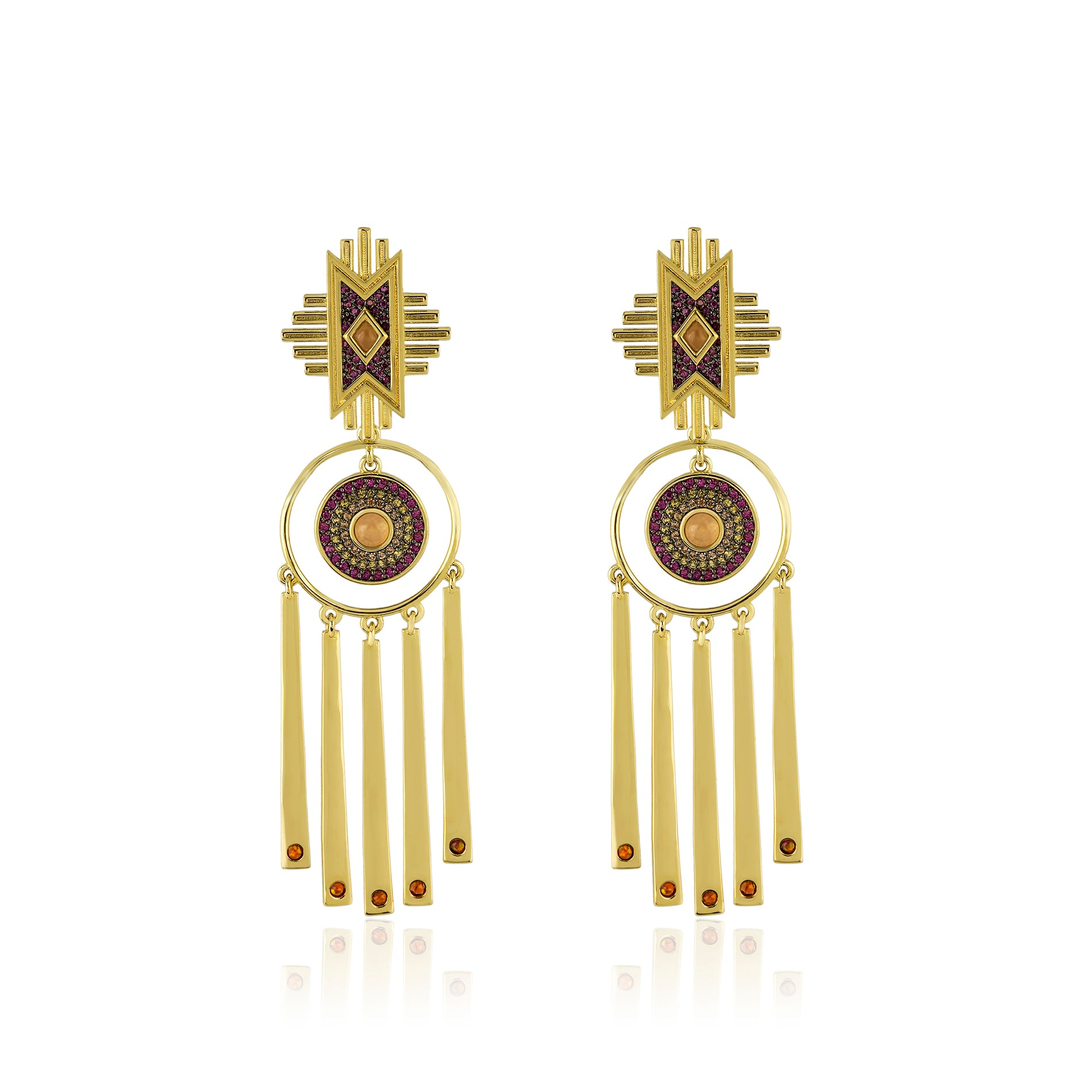Naaki Sun Earrings