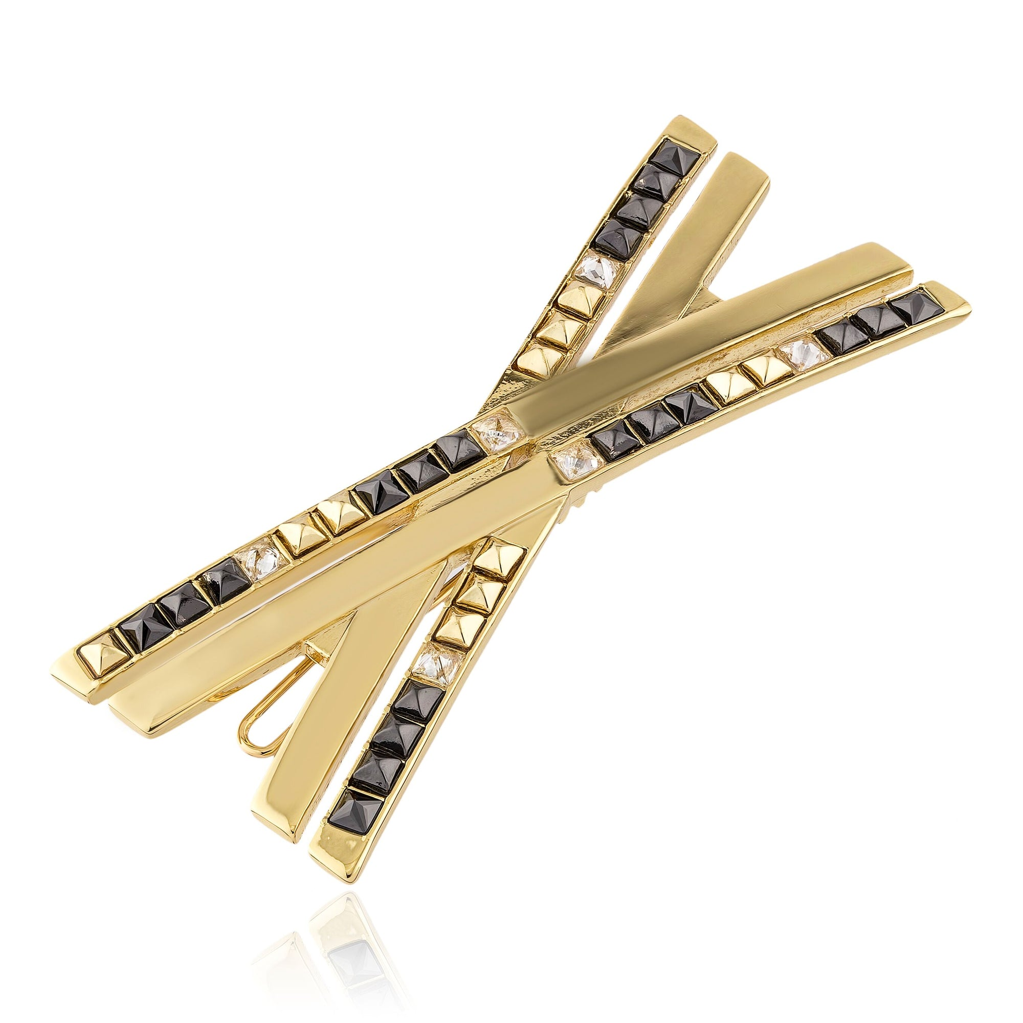 Square X Shape Hair Pin