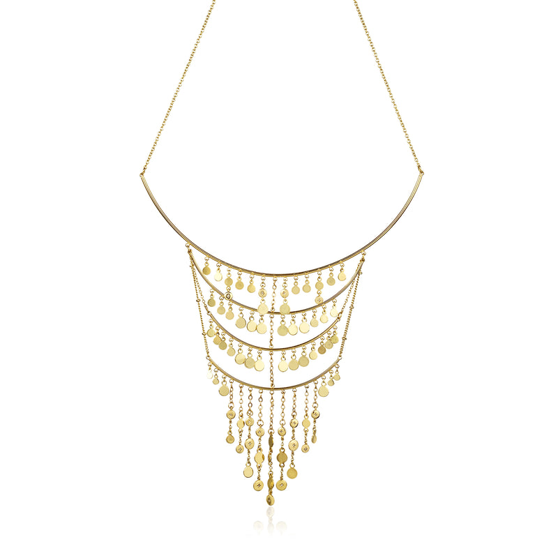 Gavitella Statement Collar Necklace