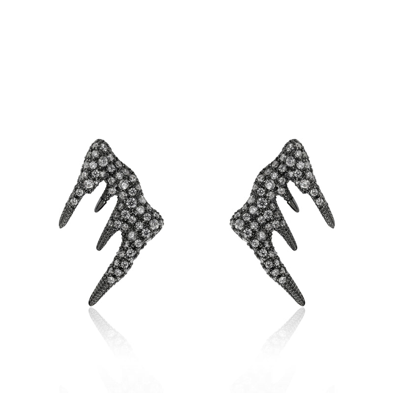 Icicle Drip Climber Earring