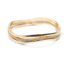 Dana Three Wavy Stackable Bangle Set