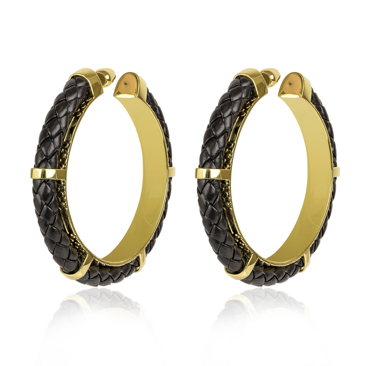 SERPENTINE HOOP EARRINGS