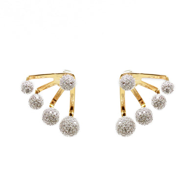 Anna Pave Suspension Earrings