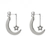 Christine Star Moon Earrings