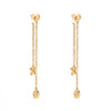 XO Swingers Chain Dangle Earrings