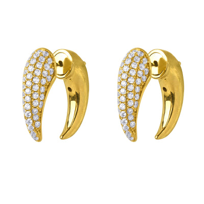 Dorothea Front-Back Earring