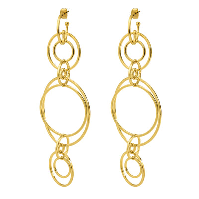 Clio Wireframe Earring