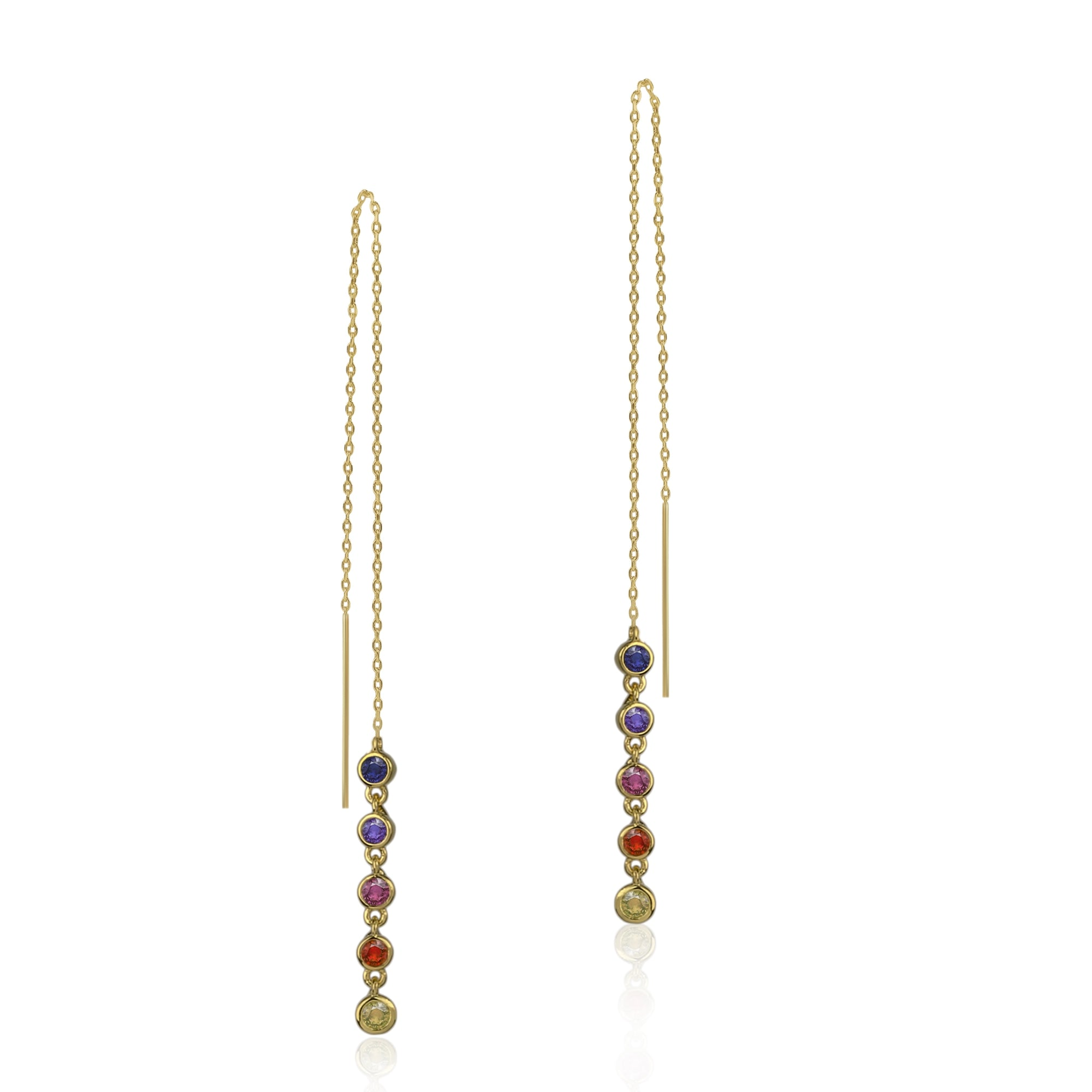Alta Threader Earrings