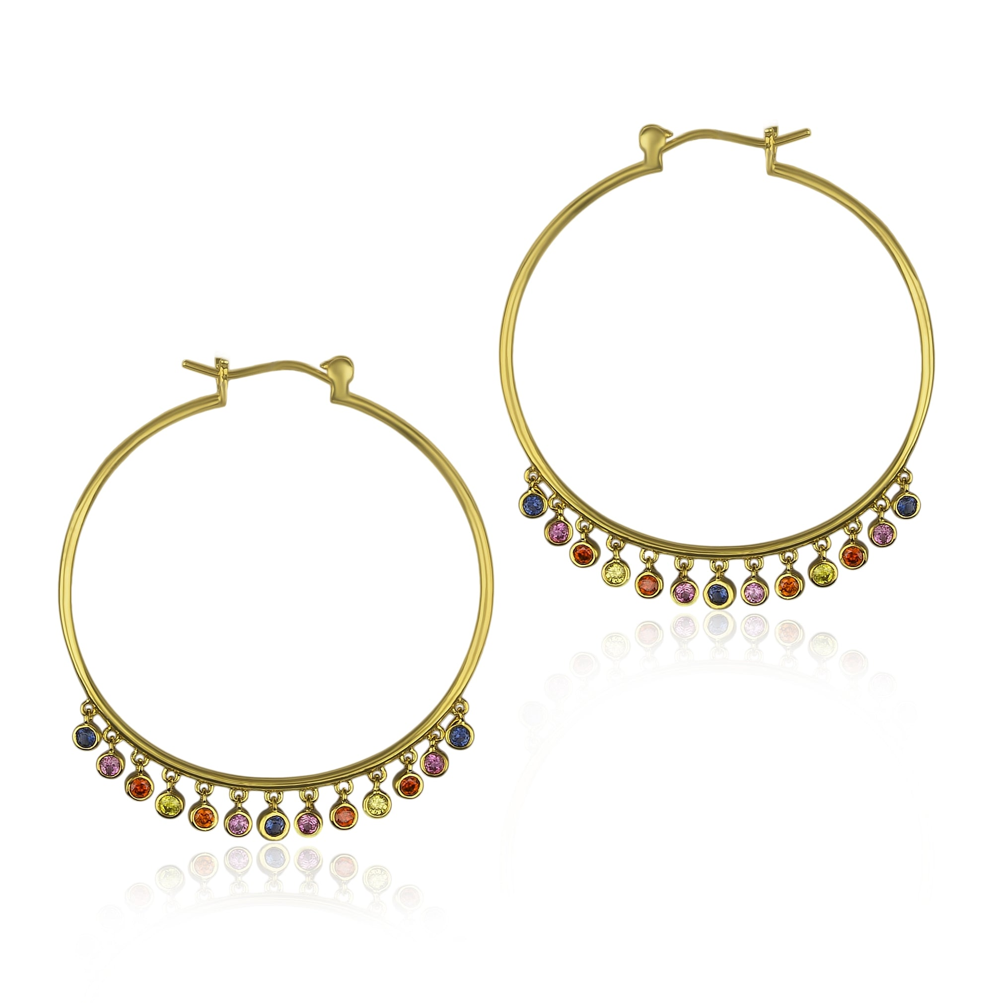 San Felipe Hoop Earrings