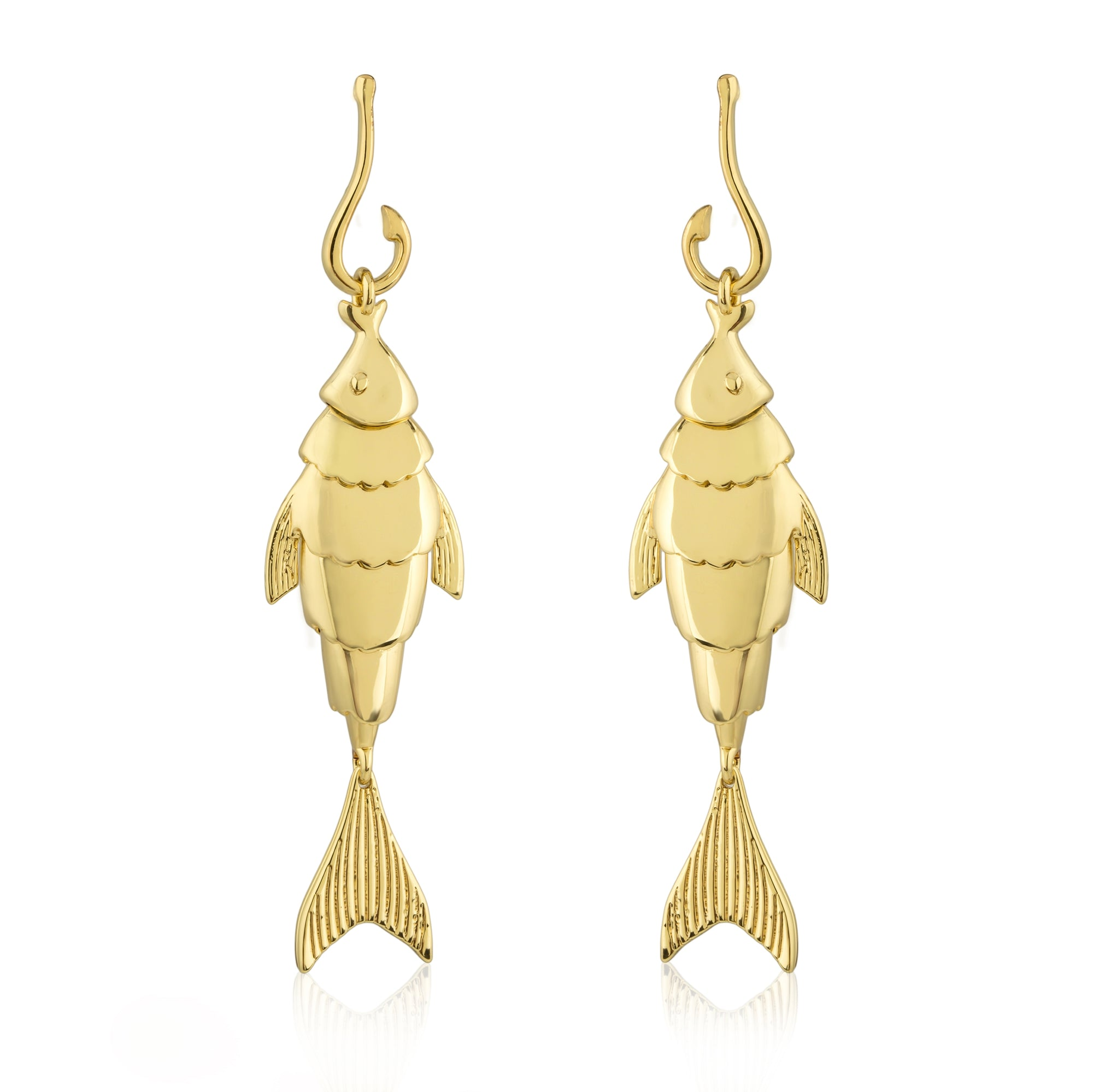 Hook, Line and Sinker Earring
