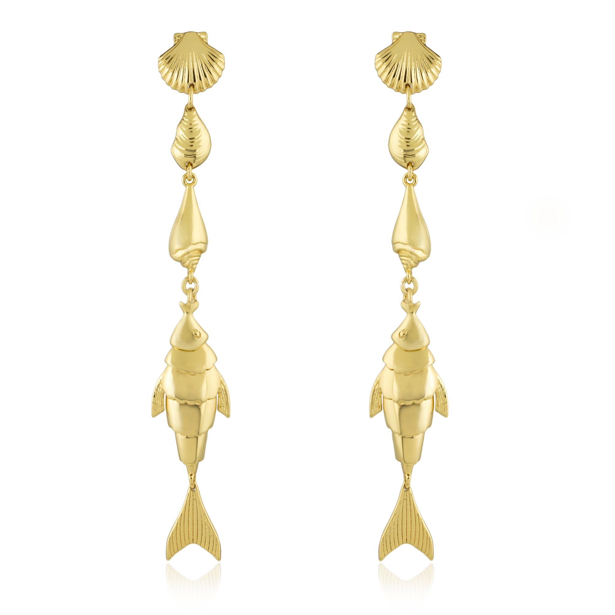Fish Out of Water Linear Earring